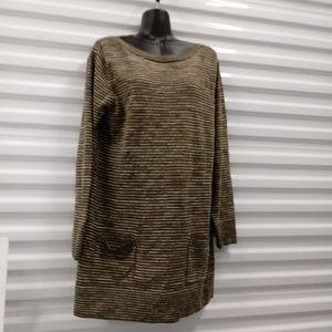 Jeanne Pierre Tunic Top Sweater Size Large